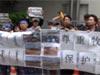 22011年5月30日草原を守れ!人権を守れ!在日モンゴル人の抗議行動