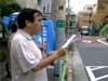 7月3日「ウイグル人襲撃事件」世界同時抗議。中国大使館前。