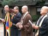 2009年9月19日聖地チベット展への抗議行動「世界平和巡礼 in 上野の森」